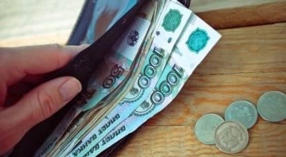 Los rusos obtendrán más dinero