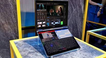 Due schermi e nessuna tastiera: ASUS ha presentato il laptop del futuro