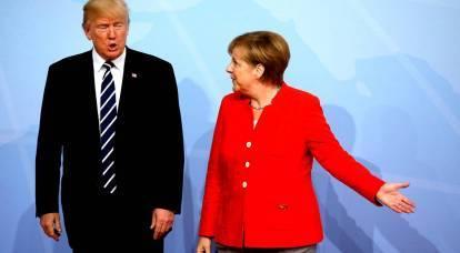 """Guerra alla Cina: l'Europa """"è caduta"""" sotto Trump"""