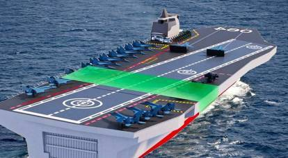 Russia has taken an uncommon approach to the construction of an aircraft carrier