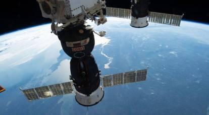 Il buco nella navicella Soyuz potrebbe essere stato fatto da una donna americana