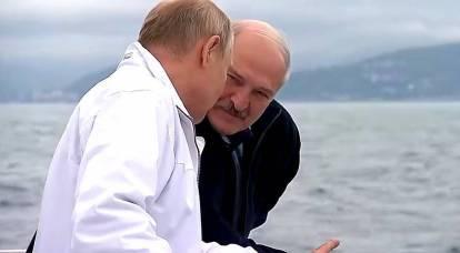 """""""¡La toma de posesión se está preparando!"""" Por qué Occidente estaba preocupado por el encuentro entre Putin y Lukashenko"""