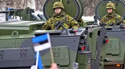 """¡En fila! El ejército de Estonia también tiene la intención de """"masacrar a los rusos"""""""
