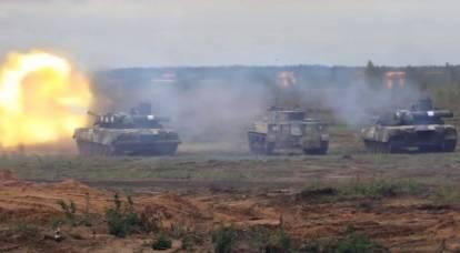 """Tanques, BMPs e BMDs na mesma formação ofensiva nos exercícios """"Oeste-2021"""": qual a viabilidade de uso conjunto"""