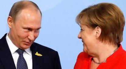"""I media mondiali sono incuriositi: perché lo """"zar russo"""" sta andando in Germania?"""