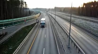 """Construction of """"smart"""" highways has begun in Russia"""