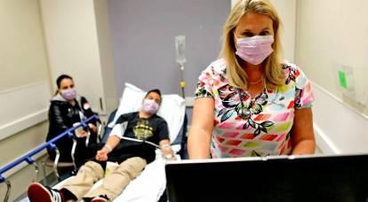 Una epidemia de gripe mortal está acabando con la población de EE. UU.