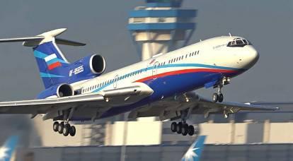 Con la partenza del Tu-154, il cielo russo divenne proprietà di Boeing e Airbus