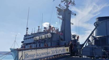 La Russia si prepara alla difesa contro le mine nel Mar d'Azov