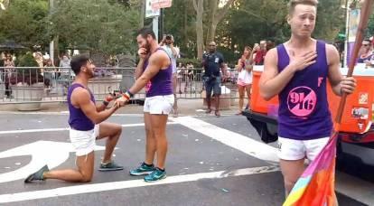 Offensiva sotto le bandiere arcobaleno: la Russia è in prima linea nella difesa contro le persone LGBT