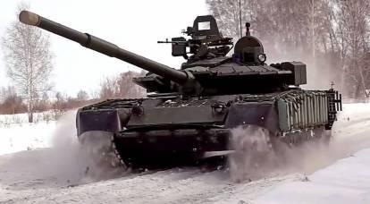 Russland ist mit dem besten Panzer für arktische Bedingungen bewaffnet