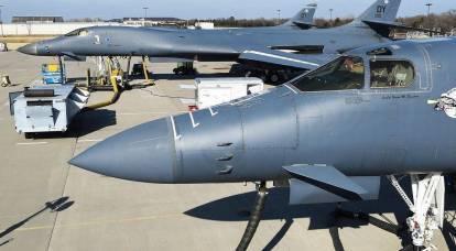 """""""Uso demasiado extendido"""": Estados Unidos detuvo los vuelos de todos los """"estrategas"""" B-1B"""