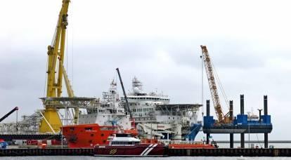 Gazprom sarà in grado di posare solo 2,5 chilometri di Nord Stream 2