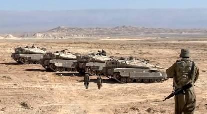 Israel listo para la operación terrestre en Gaza: tanques y artillería se unieron hasta la frontera del enclave
