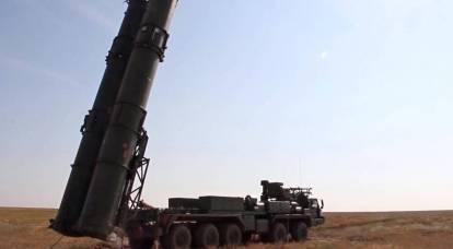 """El sistema de defensa aérea S-500 """"Prometey"""" se demostró por primera vez en Rusia"""