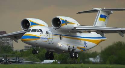 L'Ucraina ha annunciato l'inizio del rilancio della costruzione di aeromobili