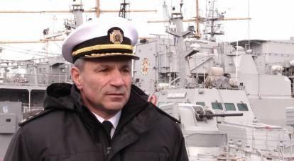 L'ammiraglio ucraino è pronto ad andare in una prigione russa invece di fermare marinai