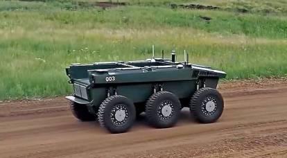 Rusya, robotik savaş sistemleri alanında ABD'yi pas geçti