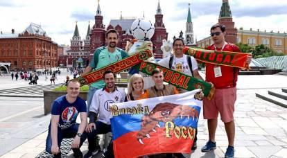 Los aficionados al fútbol vienen a Rusia: primeras impresiones