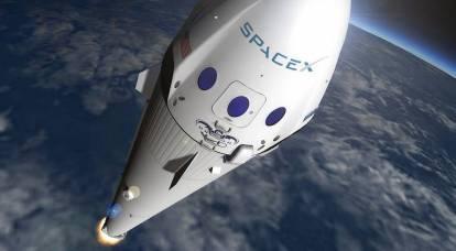 Falcon 9 ha hecho un gran agujero en la ionosfera de la Tierra