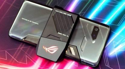 ASUS ha mostrato lo smartphone più potente con raffreddamento esterno