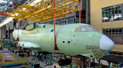 La Russia creerà una portaerei per uno sciame di droni basati sull'Il-76