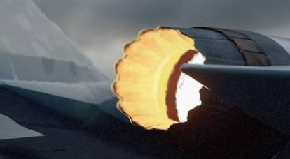 Rostec mostró el motor de un nuevo caza ligero
