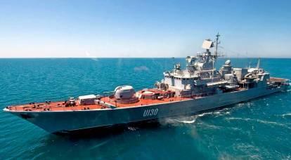 ウクライナは最後の軍艦を失う