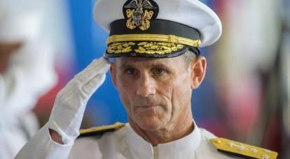 L'ammiraglio americano minaccia la Russia con portaerei