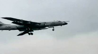 "Americans are ""wondering"" which missile the Chinese bomber H-6N carried"