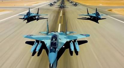 埃及可能会放弃美国的 F-16 转而使用我们的 MiG-29