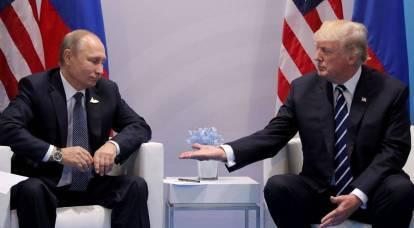 Putin behind Trump concludes alliances dangerous for the USA