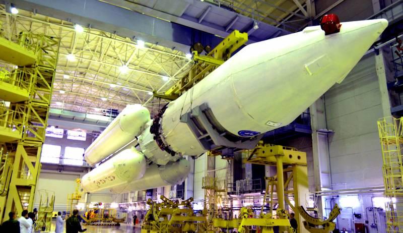 Началось строительство модернизированной тяжелой ракеты «Ангара-5М»