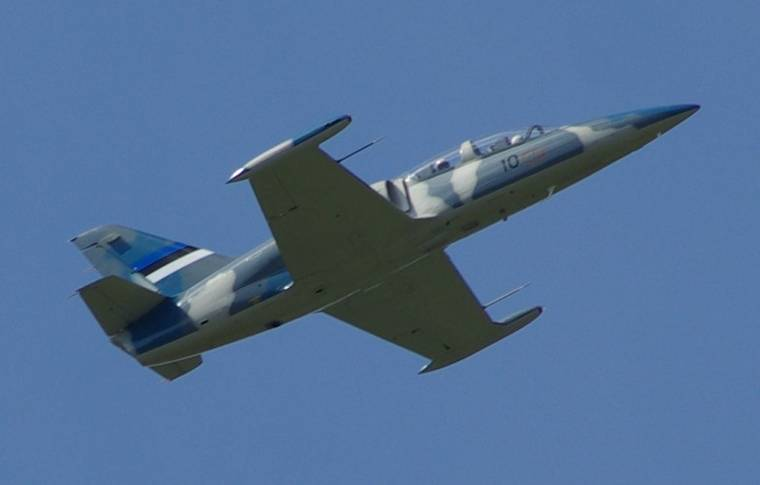 Training aircraft L-39 crashed in the Kuban