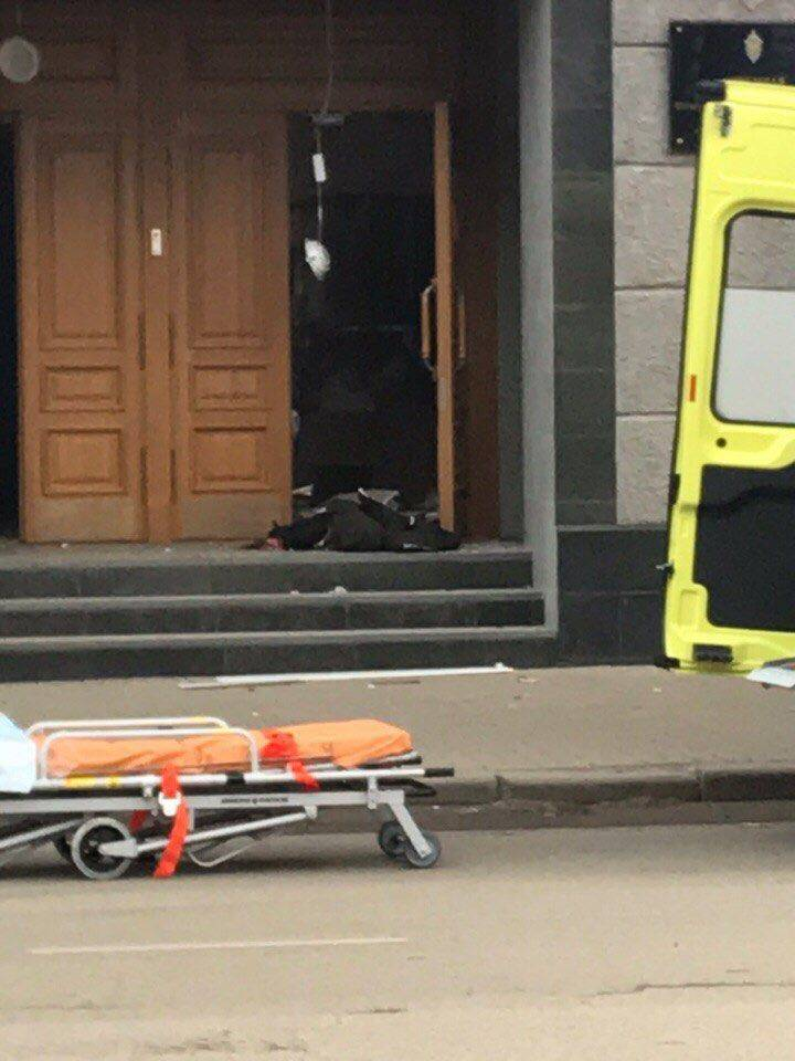 The explosion in the FSB building: a man died