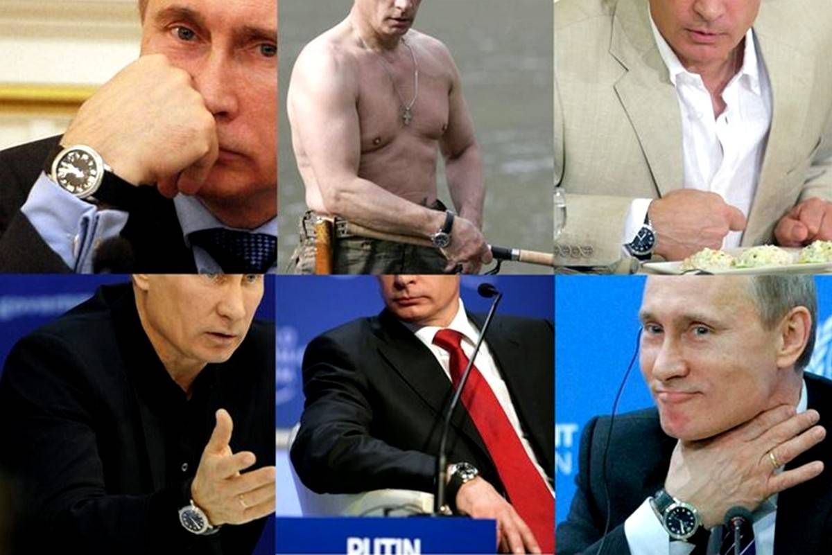 President S Time What Kind Of Watch Does Putin Wear