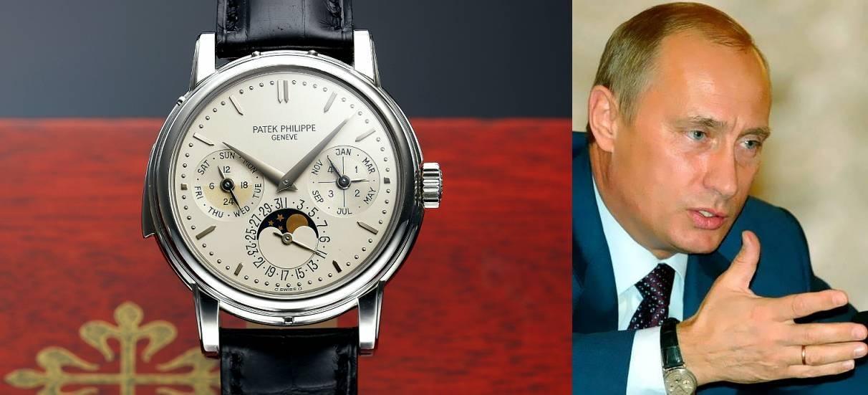 Стоимость путина фото часы наручные час модели в стоимость работы