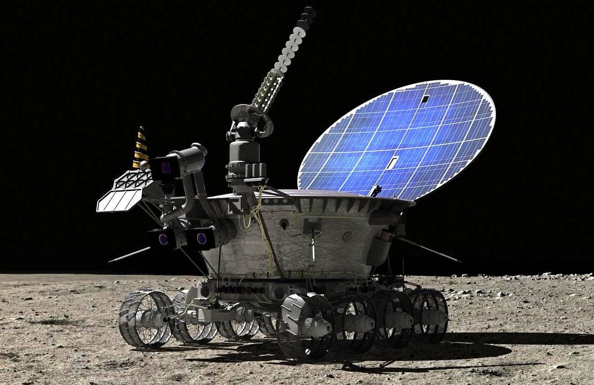 Космос луноход картинки