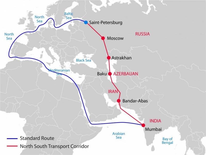 У Суэцкого канала может появиться ещё один конкурент, транспортный коридор «Север – Юг»