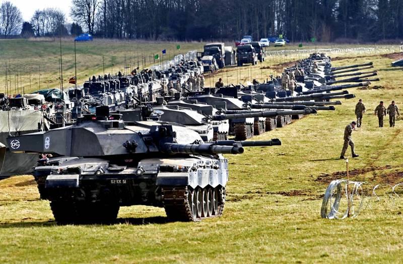 Британия резко форсирует подготовку к войне с Россией