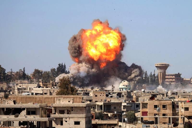 В результате авиаудара в Сирии погибли двое россиян