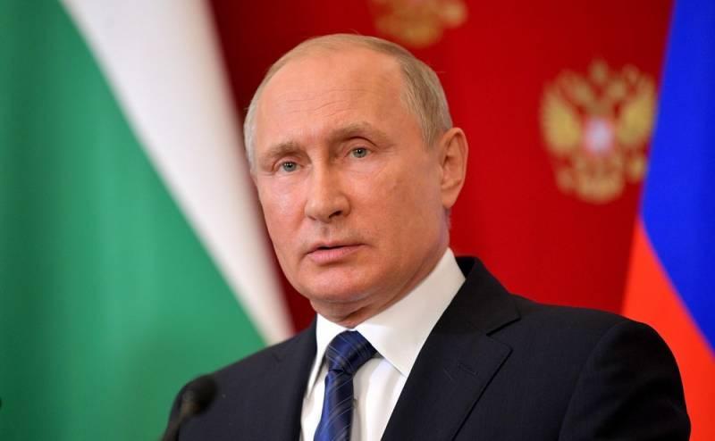 Путин: Россия выходит из ДРСМД и начинает разработку новой ракеты