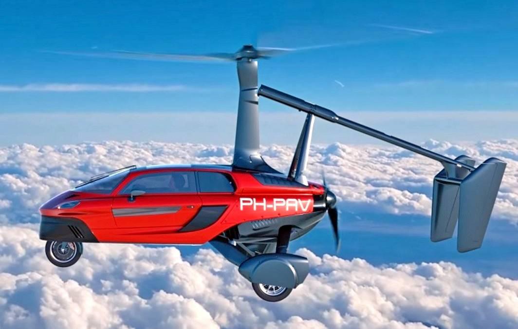 ВЖеневе показали летающий автомобиль