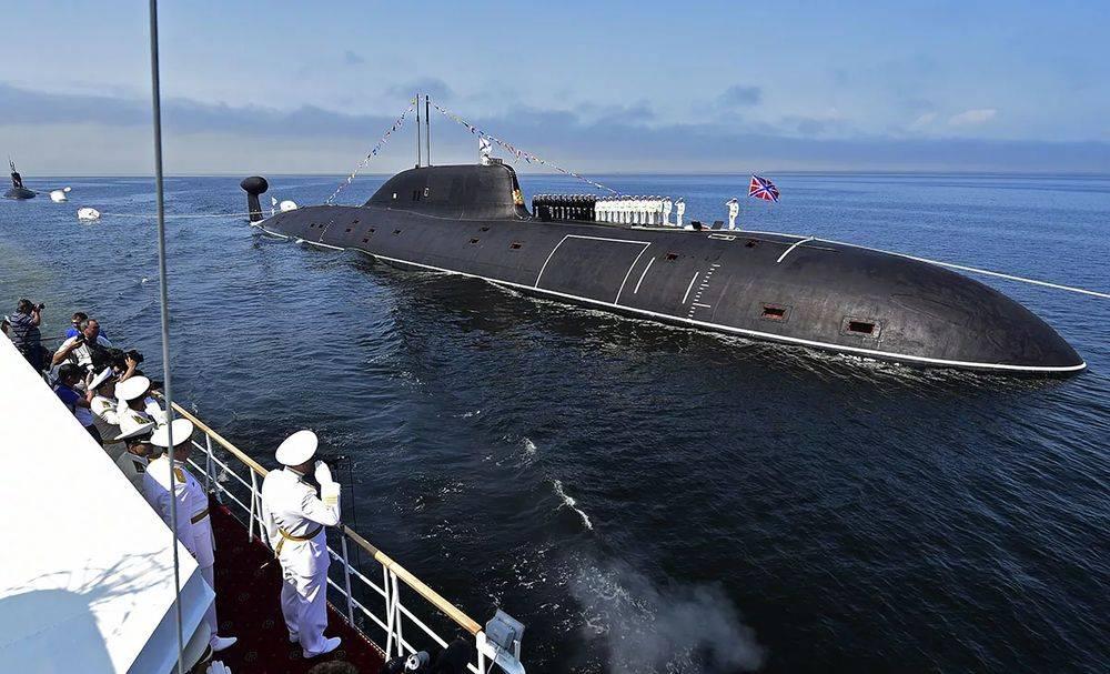 атомный подводный флот россии заставляет даже позволяет