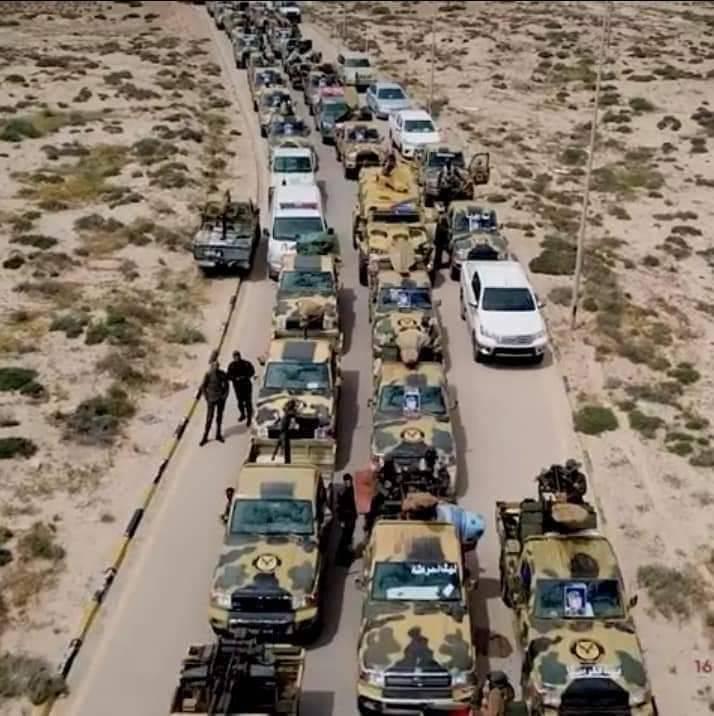 El aeropuerto de la capital libia es tomado por el ejército de Haftar