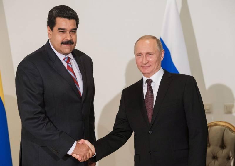Москва пригрозила США ответными санкциями за Венесуэлу
