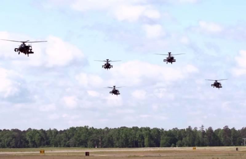 Пять британских вертолетов Apache спасут Эстонию от России