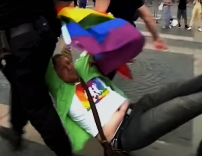 В Германии озаботились защитой гомосексуалистов в Крыму и на Донбассе