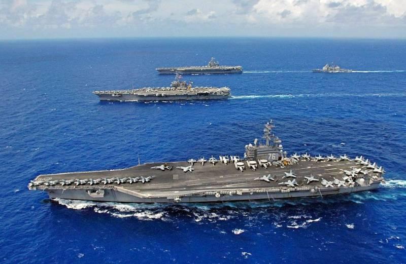 Сирия, Ливия или все же Россия? Каковы цели АУГ США в Средиземном море