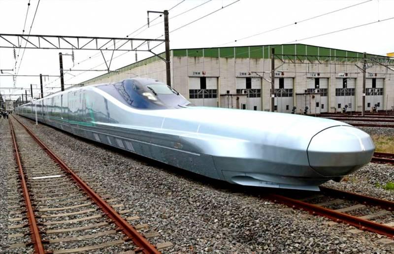 Японский «поезд-пуля» проходит первые испытания